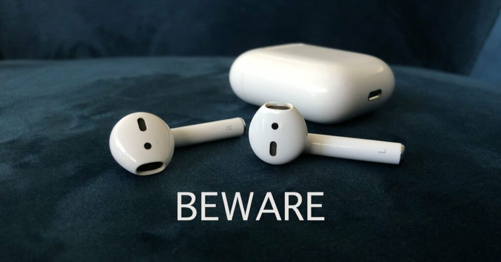 apple air pods danger ears
