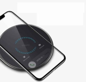 charging pad with metal frame
