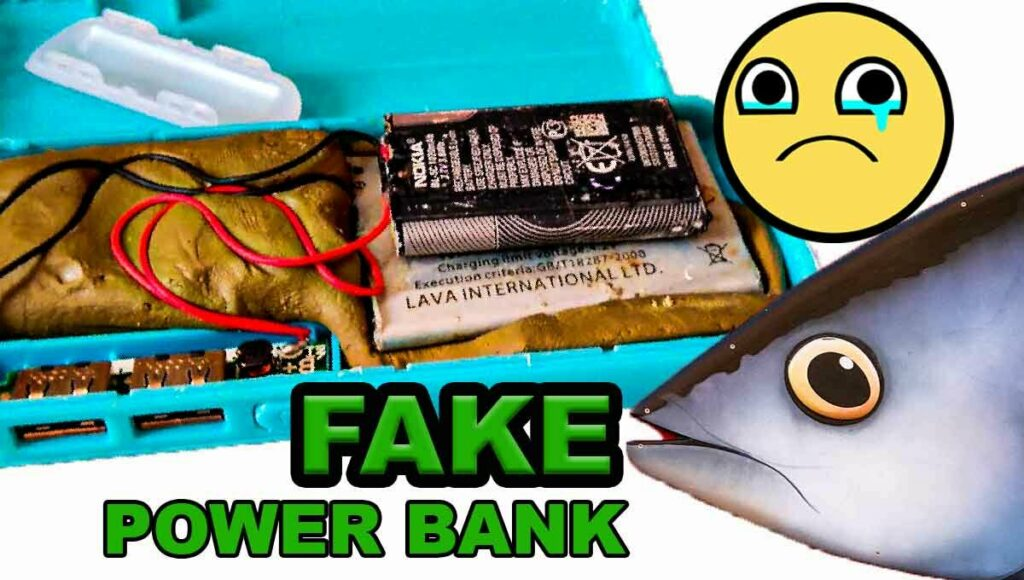 fake charging bank for phone
