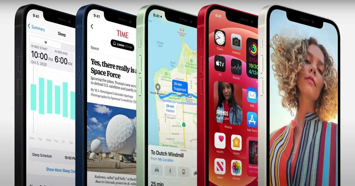 Apple iPhone 12 pro display