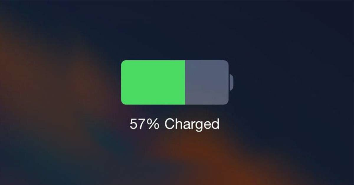 new iPhone charging level
