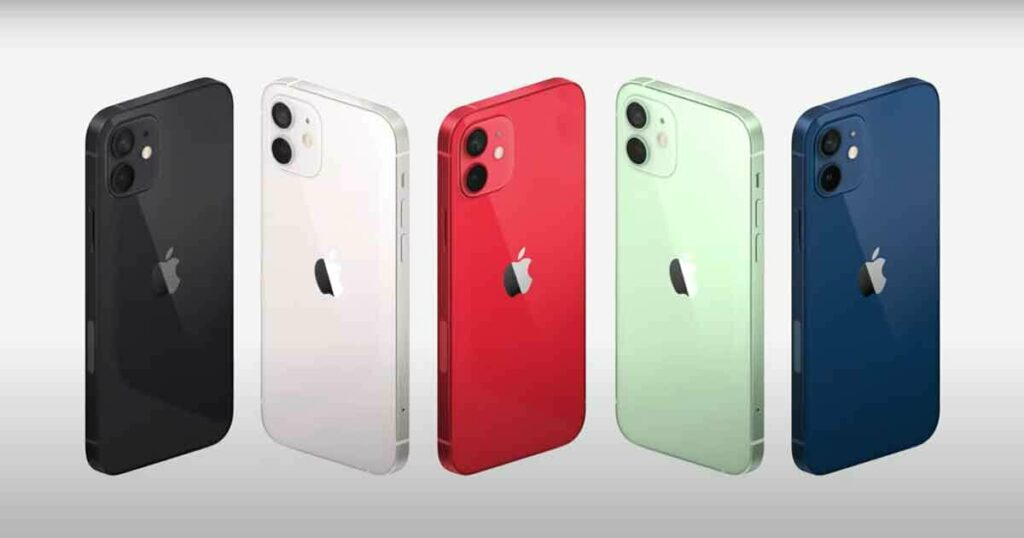 apple iPhone 12 pro colors
