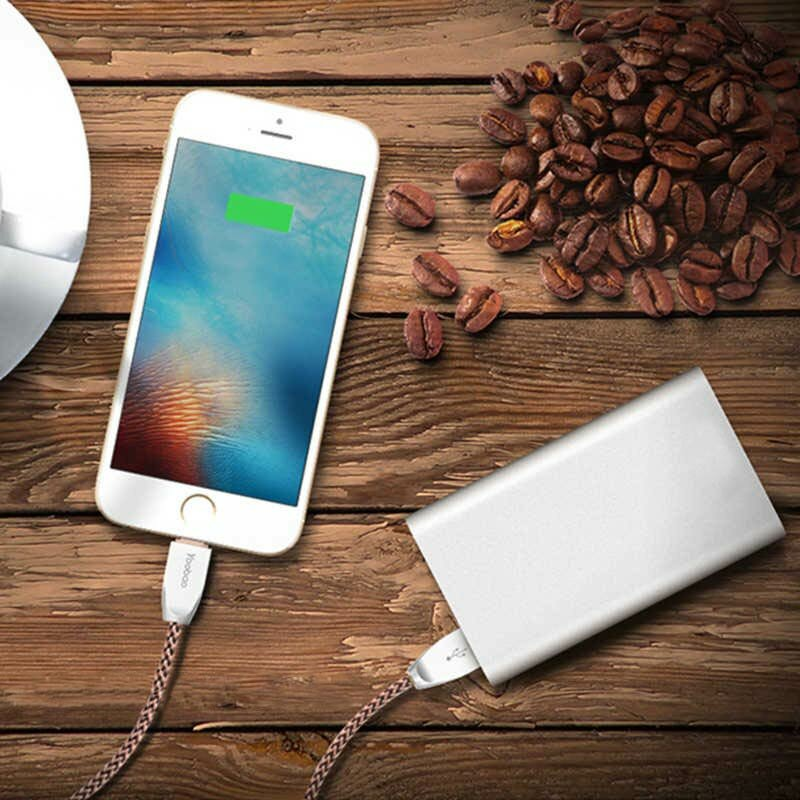 Silver Power Bank for iPhone